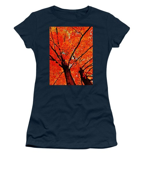 Orange...the New Green Women's T-Shirt (Junior Cut) by Daniel Thompson