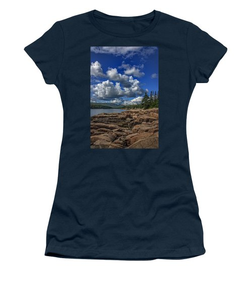 Otter Point Afternoon Women's T-Shirt (Athletic Fit)
