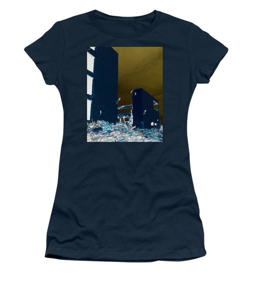 Out With The Old Women's T-Shirt (Junior Cut) by J Anthony
