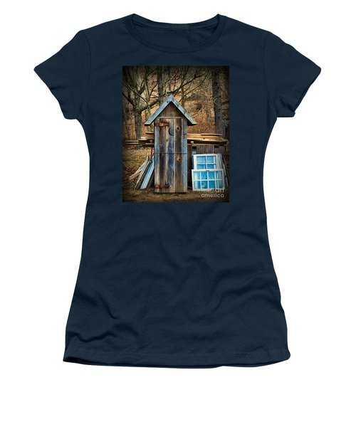 Outhouse - 5 Women's T-Shirt (Junior Cut) by Paul Ward