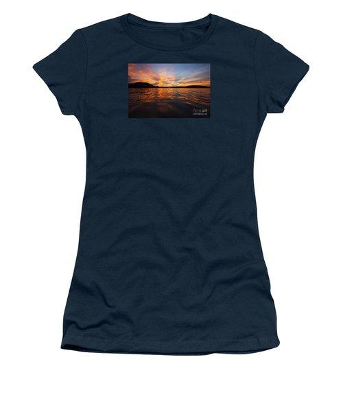 Ozark Sunset Women's T-Shirt (Junior Cut) by Dennis Hedberg