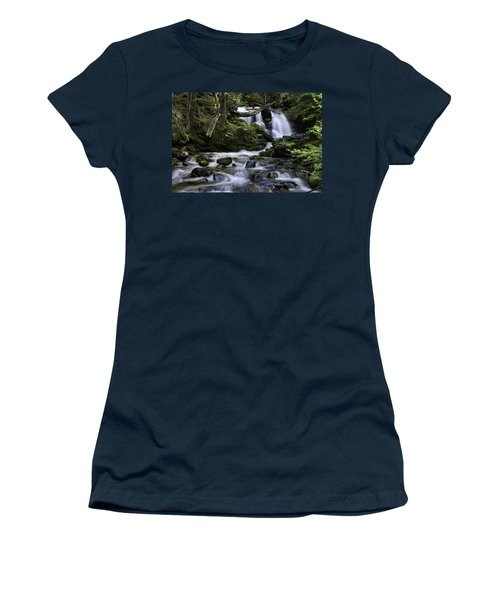 Packer Falls And Creek Women's T-Shirt (Athletic Fit)