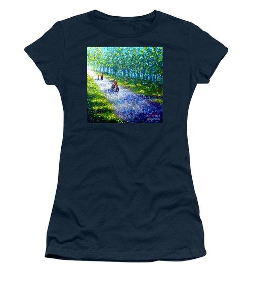 Park On St Helen Island - Montreal Women's T-Shirt
