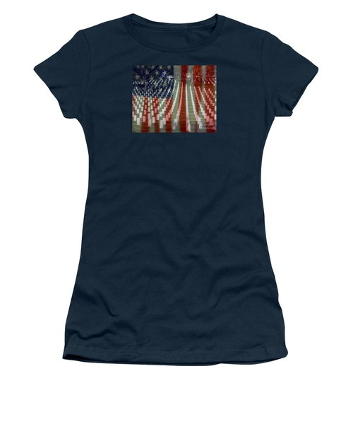 Patriotism Women's T-Shirt (Athletic Fit)