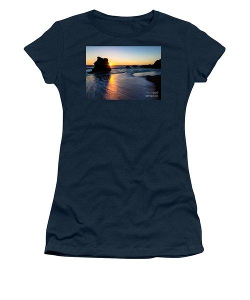 Women's T-Shirt (Junior Cut) featuring the photograph Peeking Sun by CML Brown
