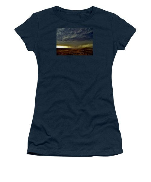 Perryton Supercell Women's T-Shirt (Junior Cut) by Ed Sweeney
