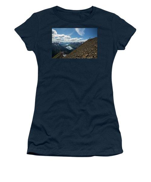 Person High Above Yukon Women's T-Shirt