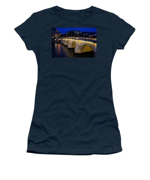 Pont Neuf Bridge - Paris - France Women's T-Shirt