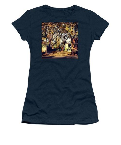 Portrait Of Autumn Women's T-Shirt