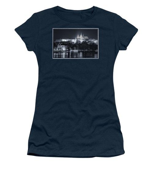 Prague Castle At Night Women's T-Shirt