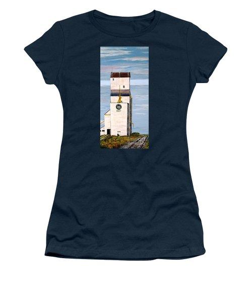 Prairie Icon - Manitoba Pool Elevator Women's T-Shirt