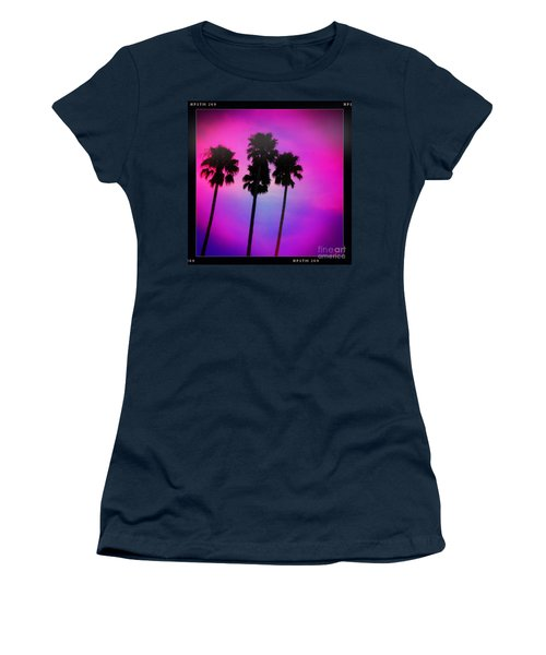 Psychedelic Palms Women's T-Shirt