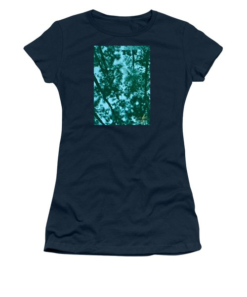 Puddle Of Pines Women's T-Shirt (Junior Cut) by Joy Hardee