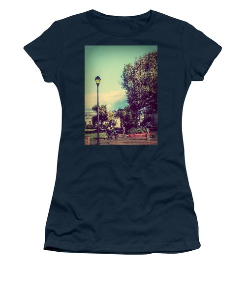 Women's T-Shirt (Junior Cut) featuring the photograph Quiet Reflections by Melanie Lankford Photography