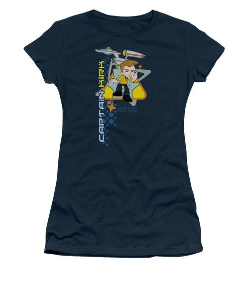 Quogs - Captain's Chair Women's T-Shirt (Athletic Fit)