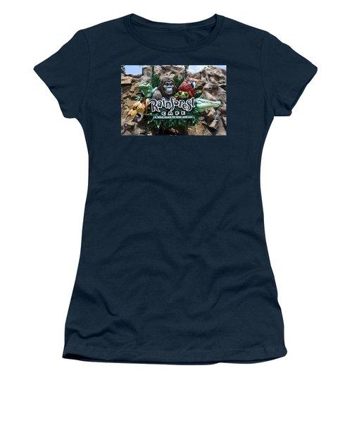 Rainforest Women's T-Shirt (Junior Cut) by David Nicholls