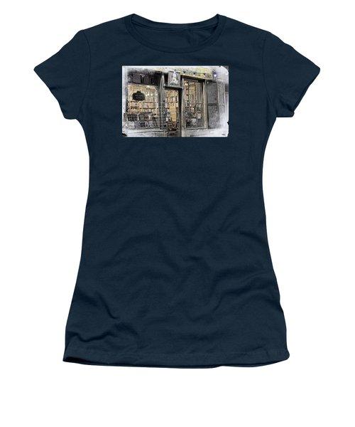 Rare Books Latin Quarter Paris France Women's T-Shirt
