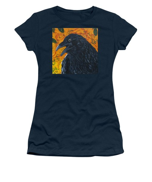 Raven Festival Women's T-Shirt (Athletic Fit)
