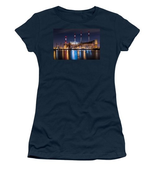 Ravenswood Generating Station Women's T-Shirt (Athletic Fit)