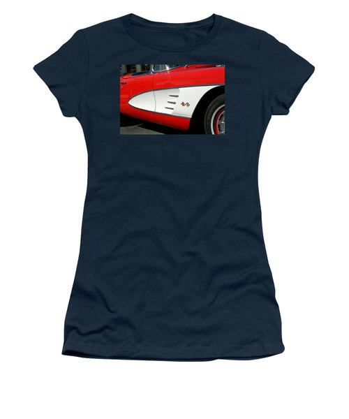 Red Corvette Women's T-Shirt