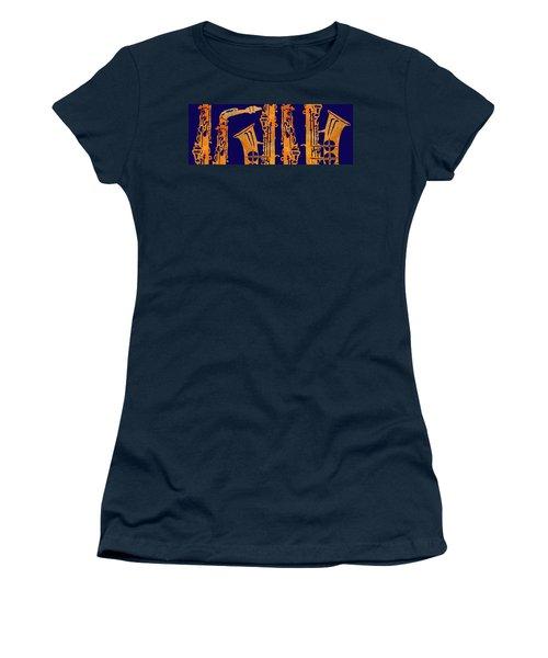 Red Hot Sax Keys Women's T-Shirt