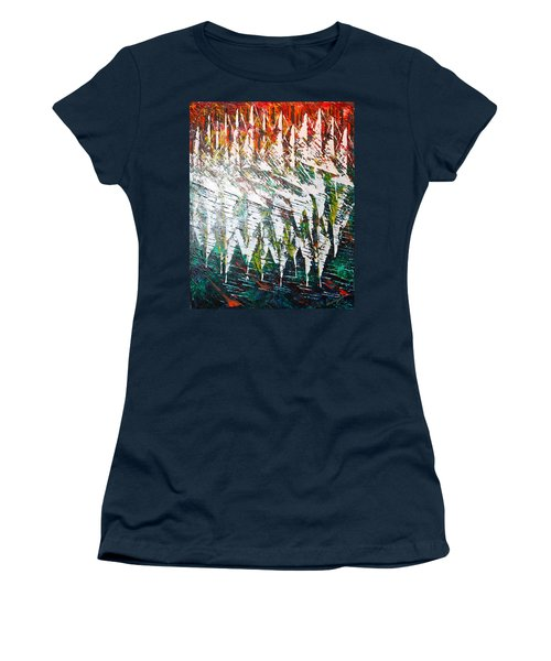 Reflecting Sails Women's T-Shirt (Junior Cut) by George Riney