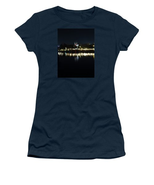 Reflection Of Lights Women's T-Shirt (Athletic Fit)