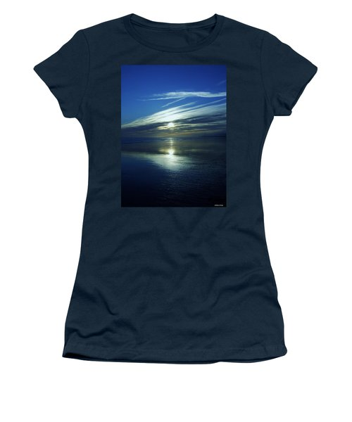 Women's T-Shirt (Junior Cut) featuring the photograph Reflections by Barbara St Jean