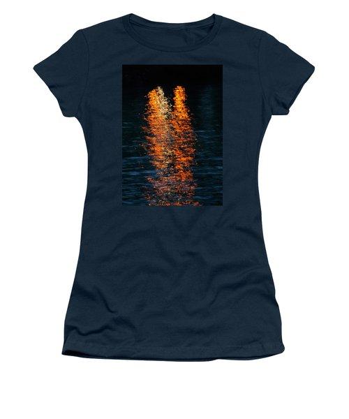 Reflections Women's T-Shirt (Junior Cut) by Pamela Walton