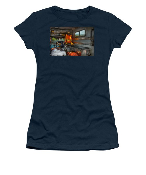 Rescue - Emergency Squad  Women's T-Shirt (Junior Cut) by Mike Savad