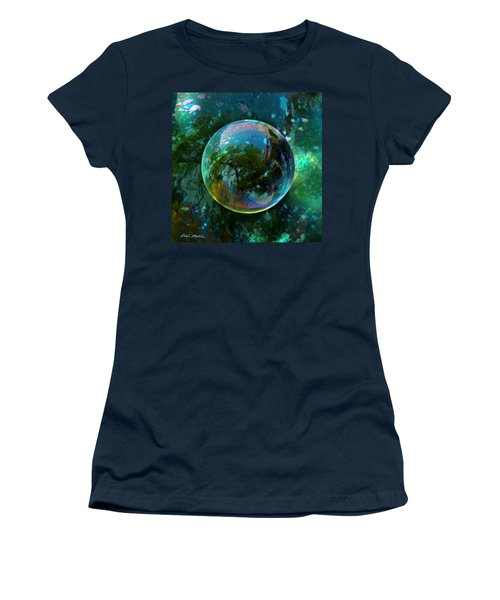 Reticulated Dream Orb Women's T-Shirt (Junior Cut) by Robin Moline