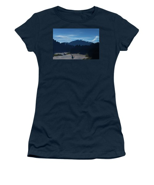 River Adventure Women's T-Shirt (Athletic Fit)