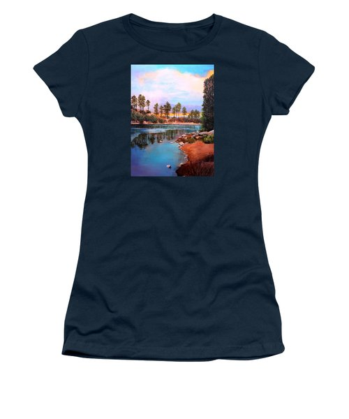 Rose Canyon Lake 2 Women's T-Shirt (Junior Cut)