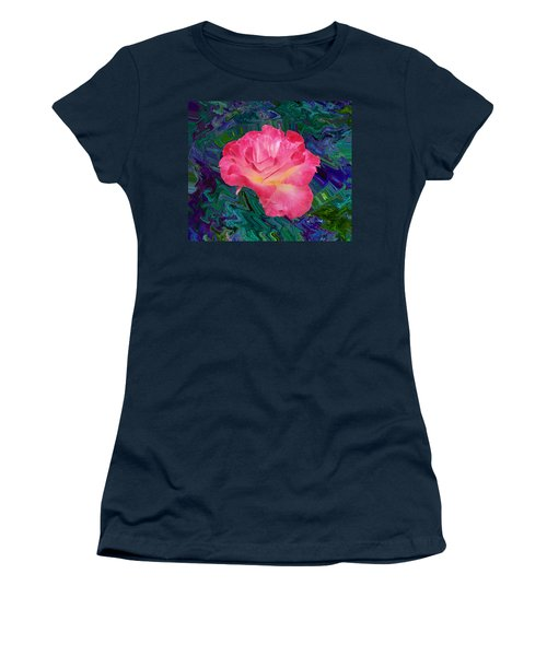 Rose In The Matter Of Your Hand V7 Women's T-Shirt
