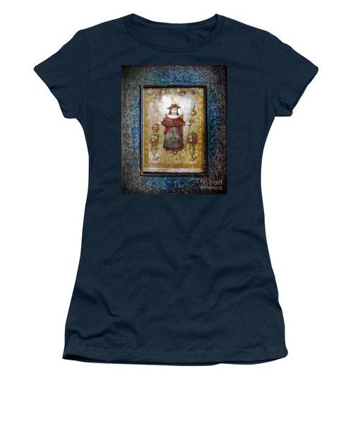 Santo Nino De Atocha Women's T-Shirt (Junior Cut) by Savannah Gibbs