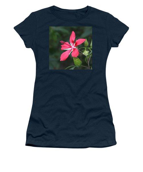 Scarlet Hibiscus #3 Women's T-Shirt
