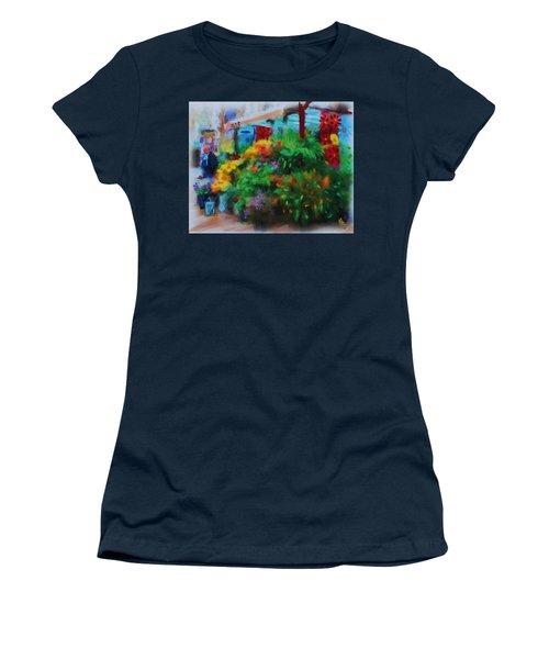 Scene From La Rambla Women's T-Shirt