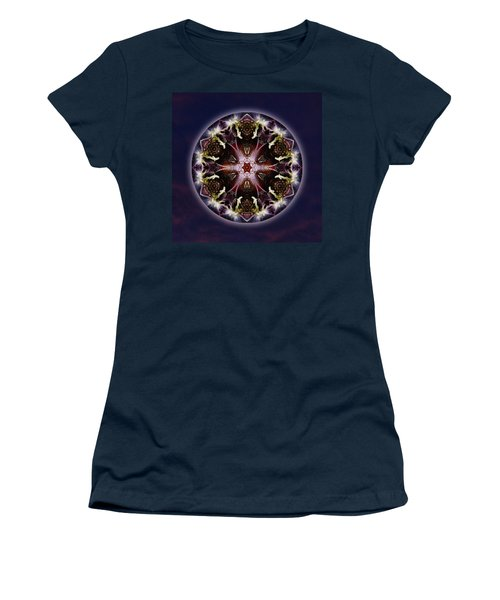 Scorpio Moon Warrior Women's T-Shirt (Athletic Fit)