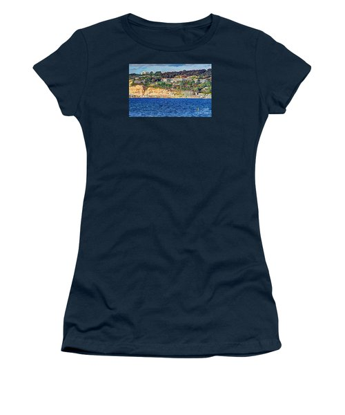Women's T-Shirt (Junior Cut) featuring the photograph Scripps Institute Of Oceanography by Jim Carrell