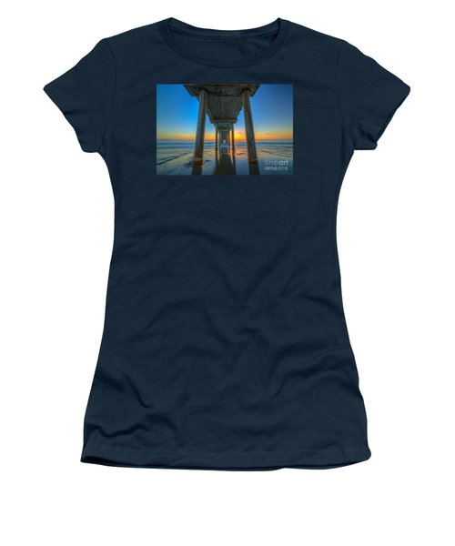 Scripps Pier Sunset Women's T-Shirt