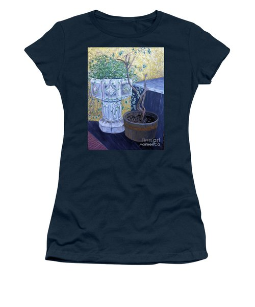 Sean's Planter Women's T-Shirt (Junior Cut) by Brenda Brown