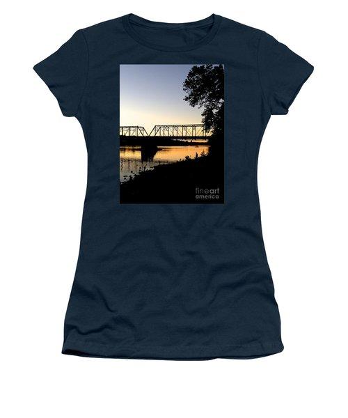 September Sunset On The River Women's T-Shirt