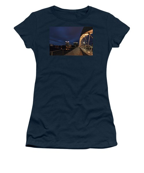Seventh Avenue Bridge Fort Worth Women's T-Shirt (Athletic Fit)