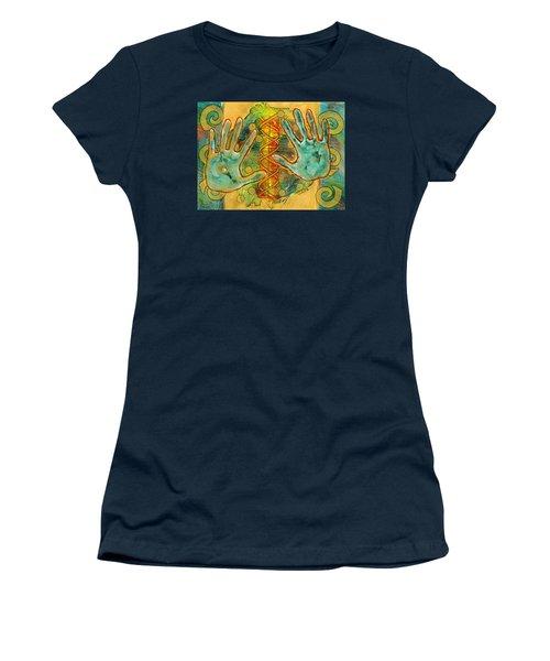 Shape Of Things Women's T-Shirt (Junior Cut) by Lynda Hoffman-Snodgrass