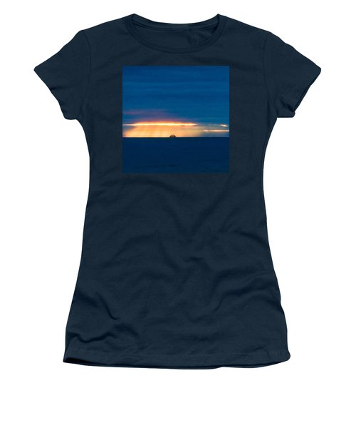Ship On The Horizon Women's T-Shirt (Athletic Fit)