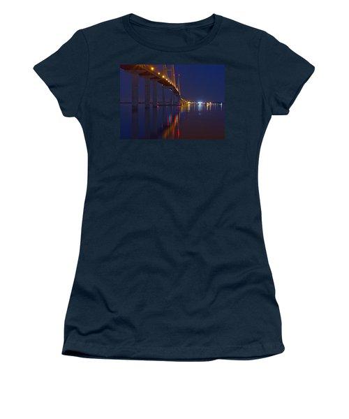 Sidney Lanier At Night Women's T-Shirt