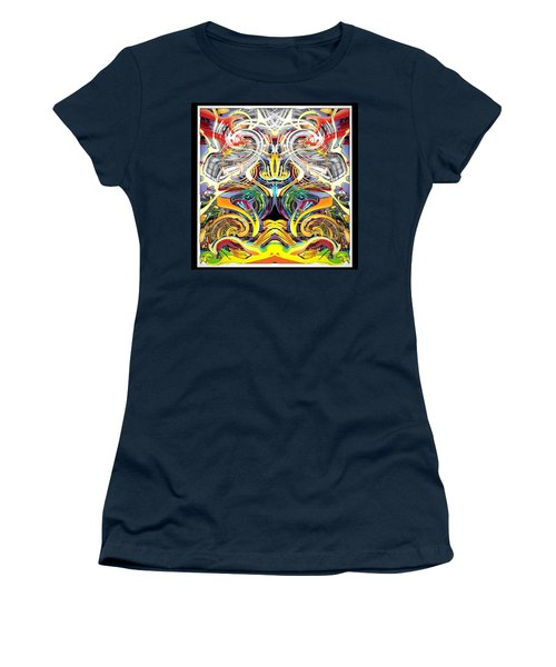 Simulated Beats B Vector 6  Women's T-Shirt