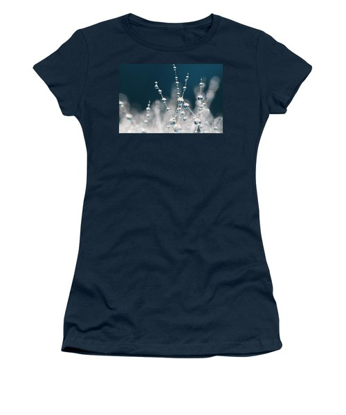 Snow White And Ice Blue Women's T-Shirt