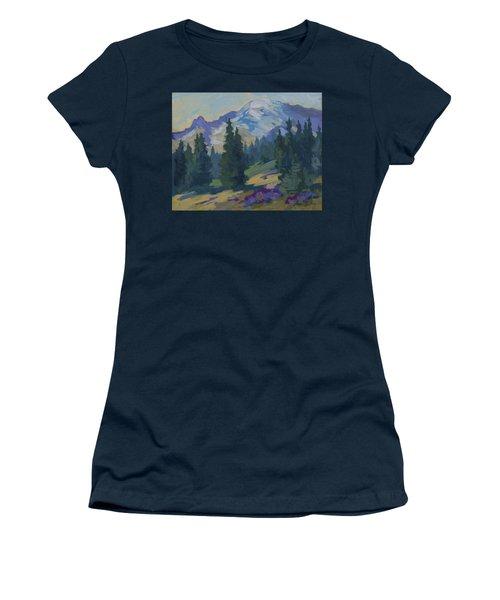 Spring At Mount Rainier Women's T-Shirt