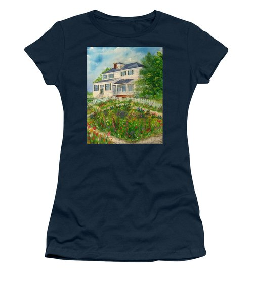 Spring In Colonial Williamsburg- Cole House Women's T-Shirt